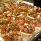 Easy Bruschetta Appetizer