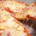 Whole Wheat Hawaiian Pizza