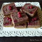Chocolate Raspberry Cheesecake Bars