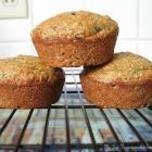 Whole Wheat Zucchini Muffins