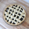 Fresh Organic Cherry Pie
