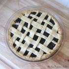 Fresh Organic Cherry Pie