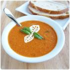 Fresh Tomato Basil Cream Soup