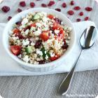 Dried Cranberry Couscous Salad