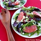 Mixed Herb Grapefruit Salad