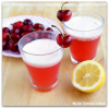 Homemade Cherry Lemonade
