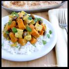 Curried Sweet Potatoes & Tofu