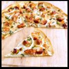Thin-Crust BBQ Chicken Pizza
