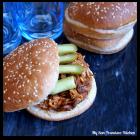 Pulled BBQ Chicken Sandwiches