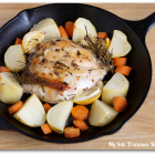 Cast Iron Rosemary Chicken