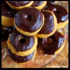 Baked Mini Pumpkin Donuts