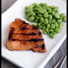 Honey Glazed Grilled Salmon