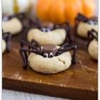 Peanut Butter Blossom Spiders