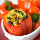 Thai Vegetarian Stuffed Peppers