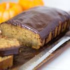 Pumpkin Banana Bread with Ganache