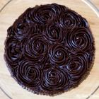 Chocolate Ganache Yellow Cake