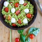 Caprese Orzo Pasta Salad