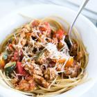 Tri Color Turkey Spaghetti