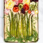 Spring Focaccia Garden Art