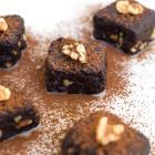 Raw Vegan Walnut Brownie Bites