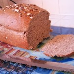 whole wheat bread loaf