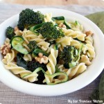 Broccoli walnut pasta