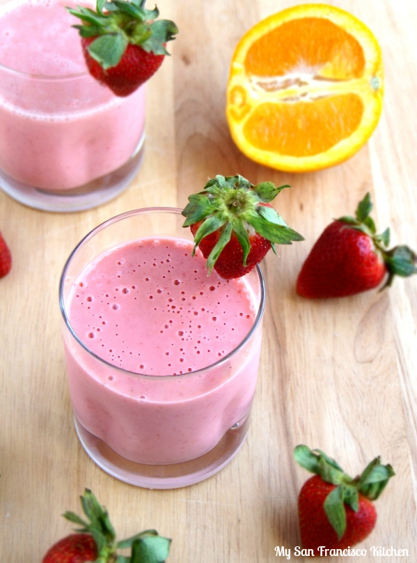 Strawberry Orange Dream Smoothie