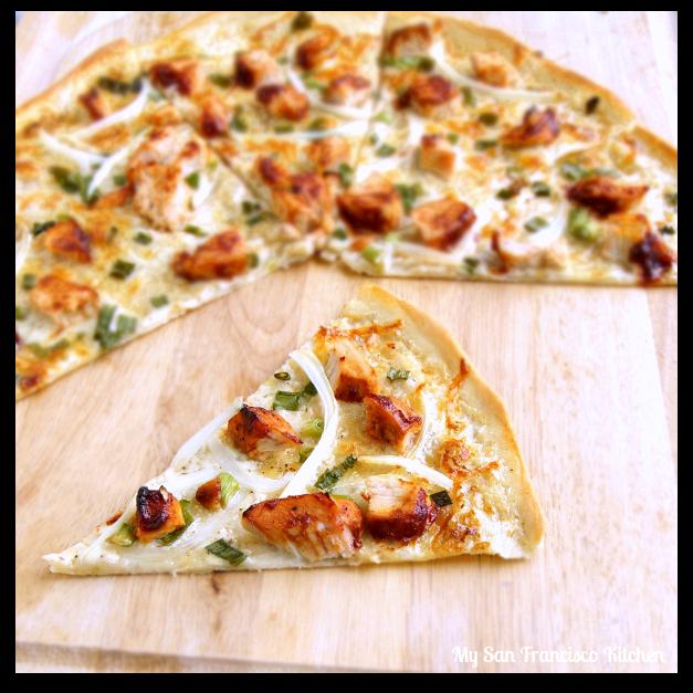 Thin-Crust BBQ Chicken Pizza | My San Francisco Kitchen