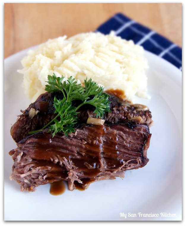 Easy Pot Roast | My San Francisco Kitchen