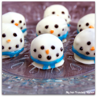 oreo snowman cookie ball
