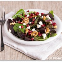 pomegranate seed salad