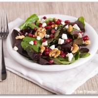 pomegranate seed salad