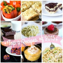 Top Recipes 2015