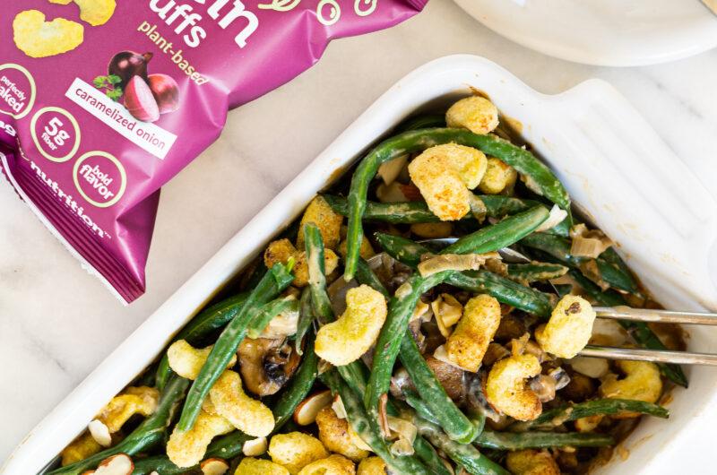 The Best Vegan Green Bean Casserole