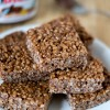 Nutella Rice Krispies Treats