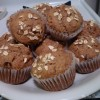 Whole Wheat Banana Muffins with Walnuts & Chocolate Chips