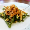 Green Beans with Toasted Almonds and Fried Onions