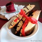 Chocolate Drizzled Almond Biscotti