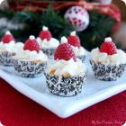 Mini Angel Food Cupcakes