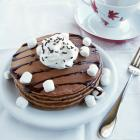 Hot Cocoa Pancakes