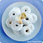 Baked Mini Powdered Donuts
