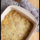 Schweinefilet-Pilz Auflauf (Pork Mushroom Casserole)