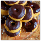 Baked Mini Pumpkin Donuts