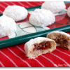 Jam-Filled Snowball Cookies