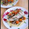 Tomato Basil Mushroom Chicken Pasta