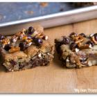 Sweet 'n Salty Cookie Bars