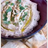 Pine Nut and Cilantro Hummus