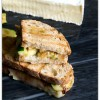 Zucchini, Brie & Caramelized Onion Panini