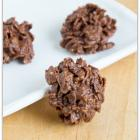 No Bake Chocolate Crunch Cookies