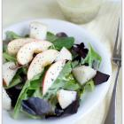 Pear Apple Salad for National Nutrition Month